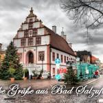Bad Salzuflen Rathaus und Tannen