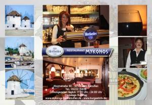Griechisches Essen Mykonos - Bad Salzuflen